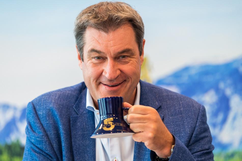 Ministerpräsident und CSU-Chef Markus Söder (54).