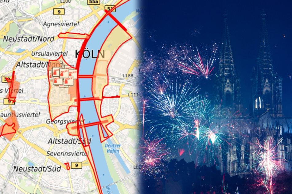 Köln: An diesen Orten in Köln ist Feuerwerk verboten!
