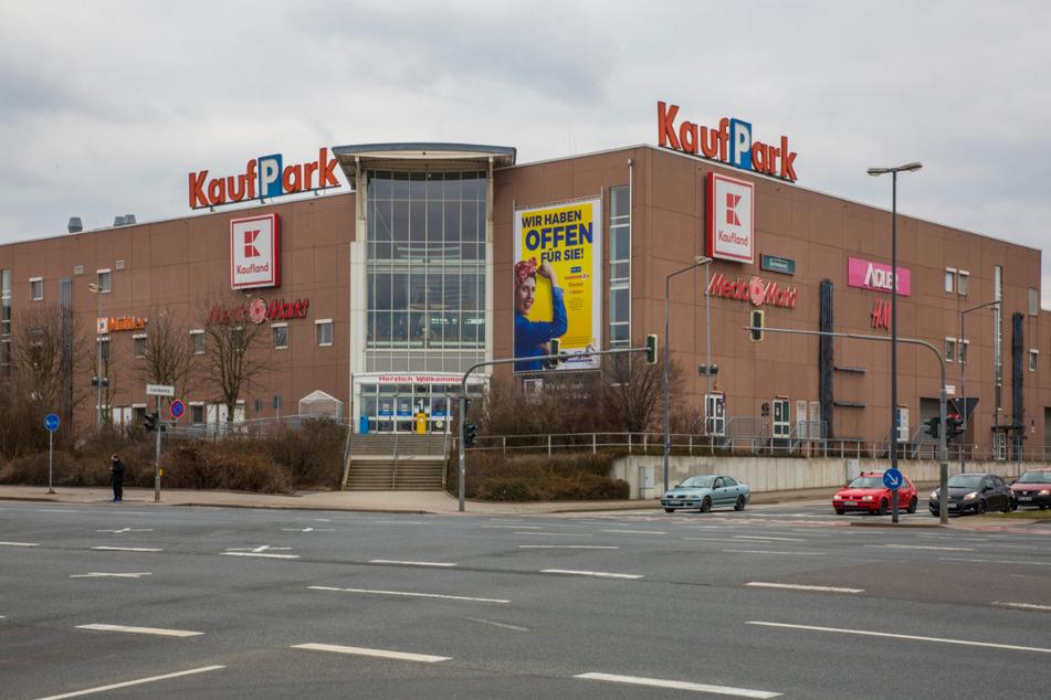 Der Kaufpark Nickern wird abgerissen und neu errichtet.