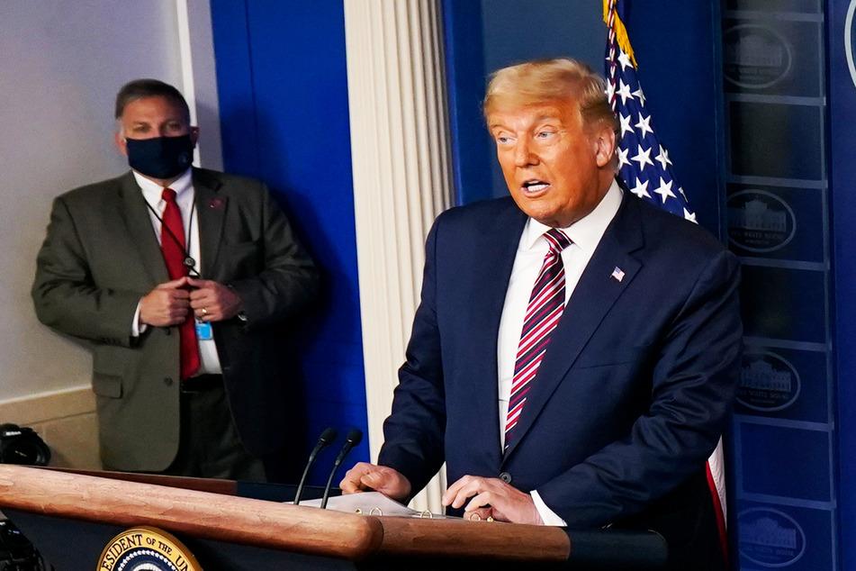 Donald Trump lädt zur Pressekonferenz: Es geht völlig schief