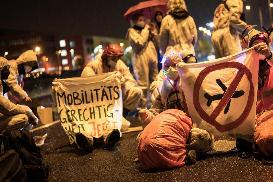 Leipzig: Nach Flughafen-Blockade: Weitere Demonstration von Klima-Aktivisten in Leipzig geplant