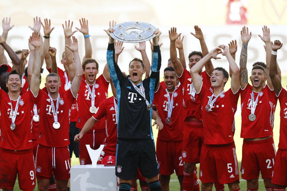 Die Bayern mussten eine zweimonatige Zwangspause erdulden, bevor sie erneut Bundesliga-Meister wurden. Den Zuschauern hat das Warten offenbar nichts ausgemacht.