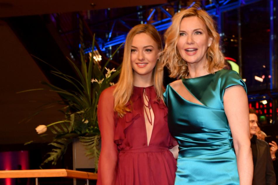 Schauspielerin Veronica Ferres und ihre Tochter Lilly Krug.