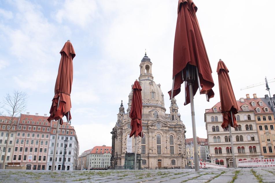 In ganz Sachsen gibt es Ausgangsbeschränkungen. Verstöße können mit Bußgeldern geahndet werden.