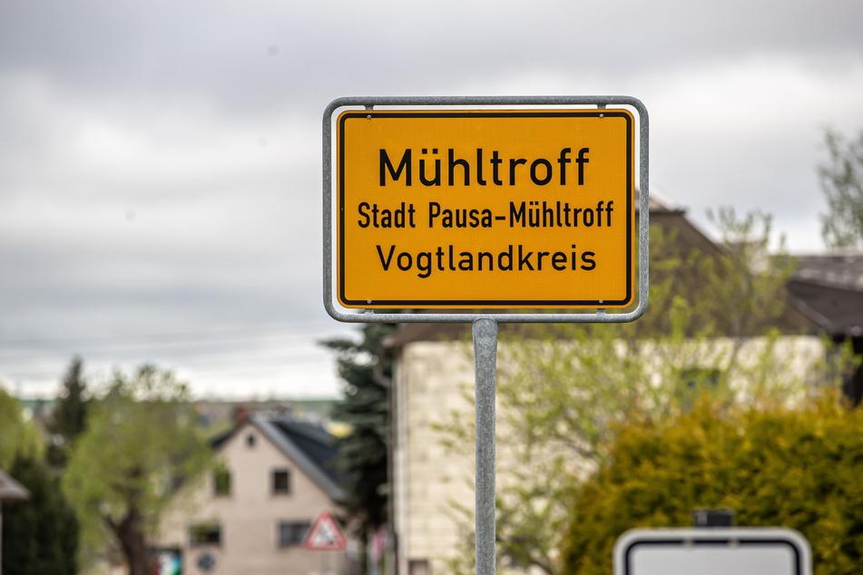 Tatort Pausa-Mühltroff: Hier erschoss sich ein Polizist bei seiner Festnahme.