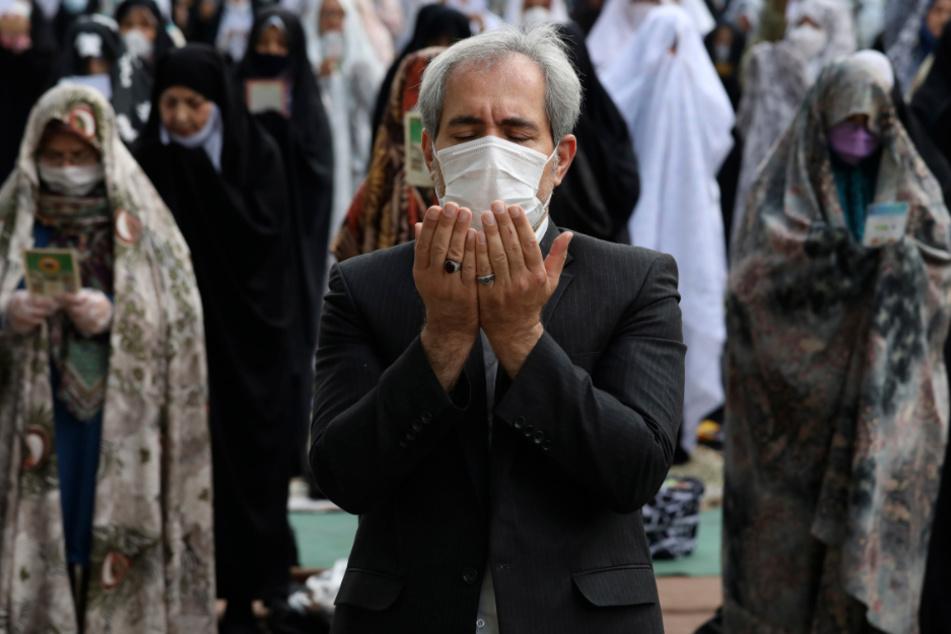 Im Iran ist die Corona-Opferzahl gestiegen.