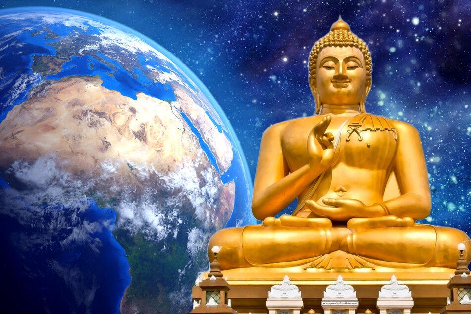 Mönche wollen Weltraum-Tempel bauen, um damit die Erde zu beschützen