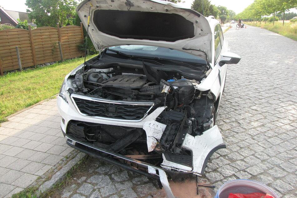 Zur genauen Unfallursache ist noch nichts bekannt.