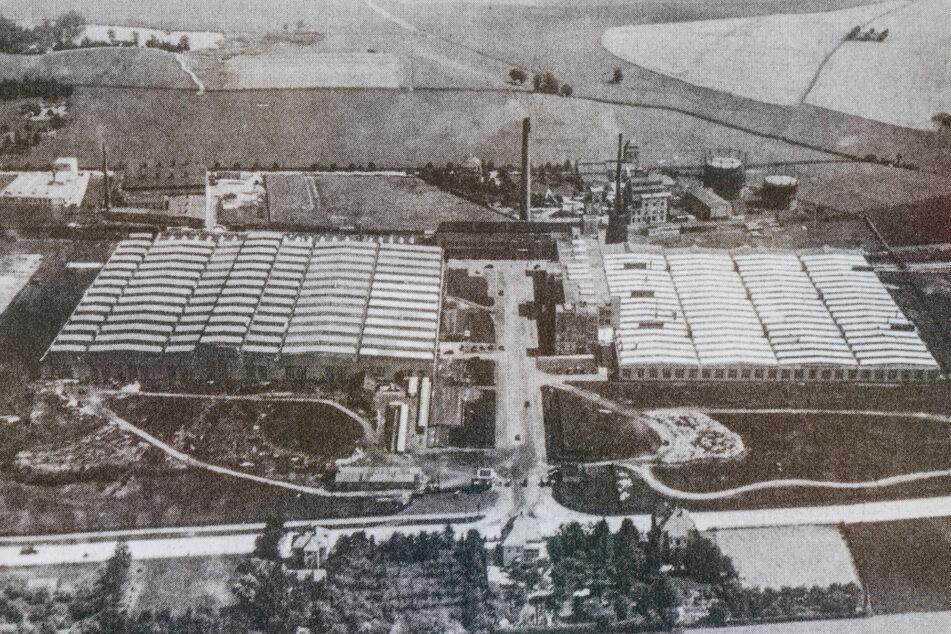 Für das Siegmarer Werk der Auto Union schufteten rund 4000 Zwangsarbeiter aus verschiedenen Nationen. Die Aufnahme entstand 1930.