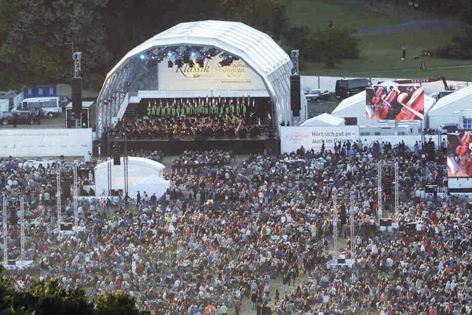 Das beliebte Open Air-Konzert im Rosental findet 2020 leider nicht statt.