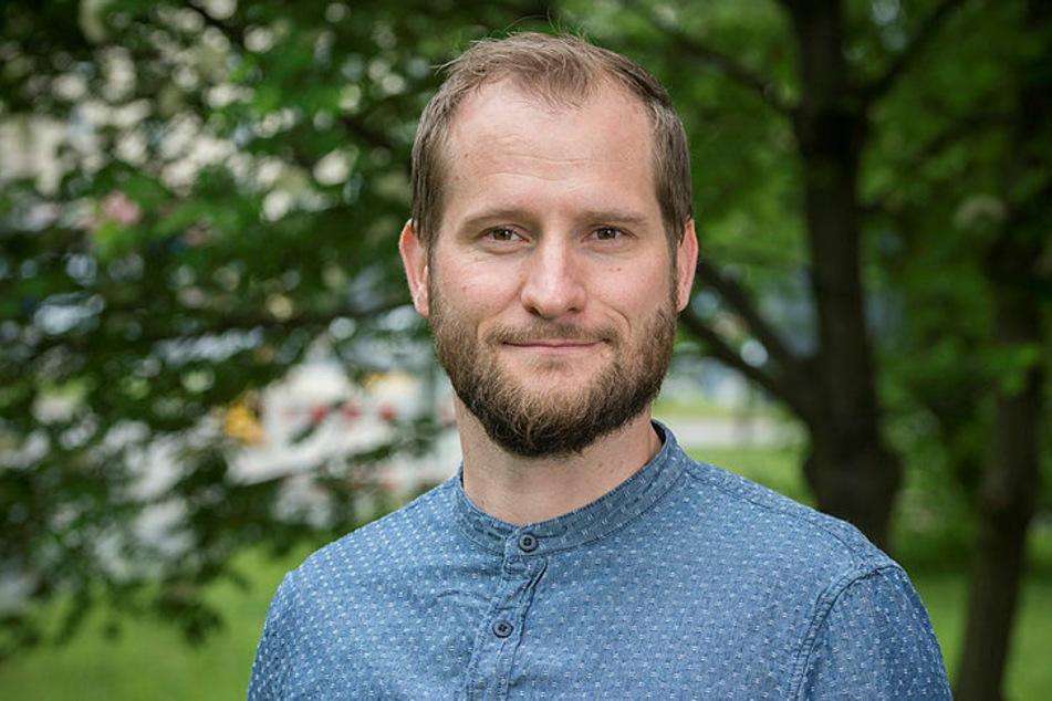 Sven Lißner von der TU Dresden sucht für die Studie noch 200 Leipziger Radfahrer.