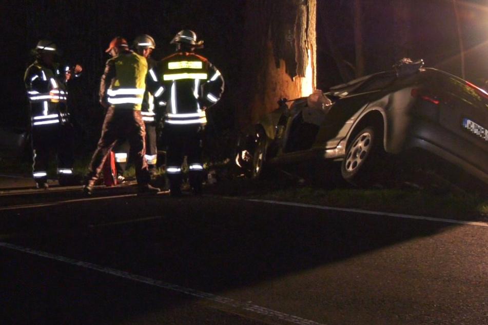 Der Unfall ereignete sich in der Nacht von Freitag auf Samstag.