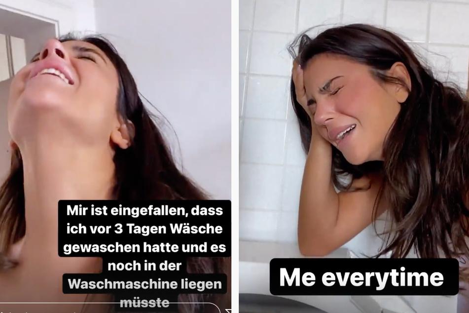 In der Frankfurter Wohnung von Zara Secret (26) spielte sich am Samstag ein Alltags-Drama ab, das ihre Follower in zwei Instagram-Storys mitverfolgen konnten.