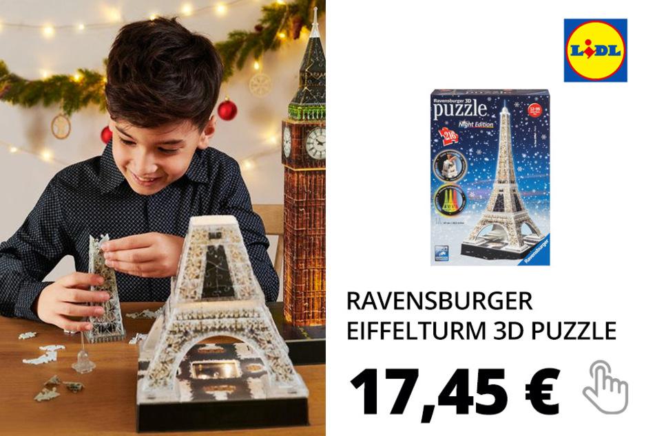 Ravensburger Eiffelturm bei Nacht 3D Puzzle