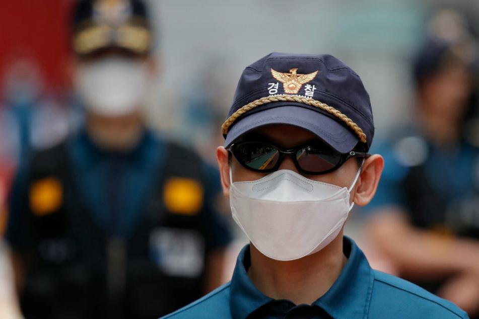 Die südkoreanische Polizei konnte den Mann nicht stoppen (Symbolbild).