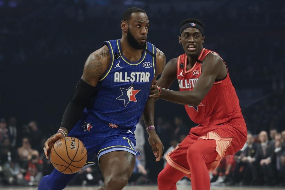 Die NBA Allstar Wochen 2020 (Foto: Nam Huh/AP/dpa).