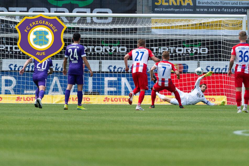 Aue will gegen Heidenheim drei Punkte mitnehmen, doch die Hürde ist groß