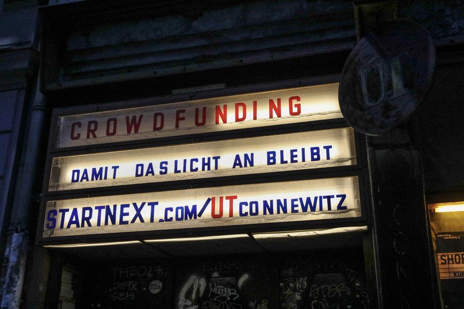 """Auf """"Startnext"""" kann man den Veranstaltungsort mit Spenden unterstützen."""