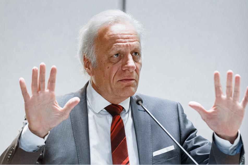 Walter Plassmann, Vorstandsvorsitzender der Kassenärztlichen Vereinigung Hamburg (KVH).