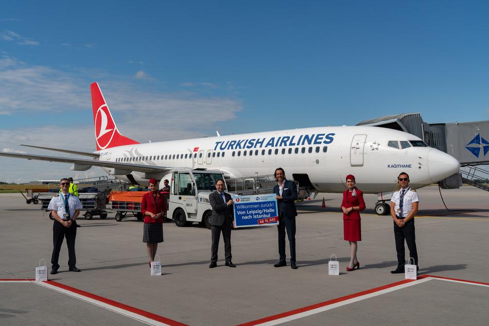 Turkish Airlines bieten ab Donnerstag vier Tage in der Woche Flüge nach Istanbul an.