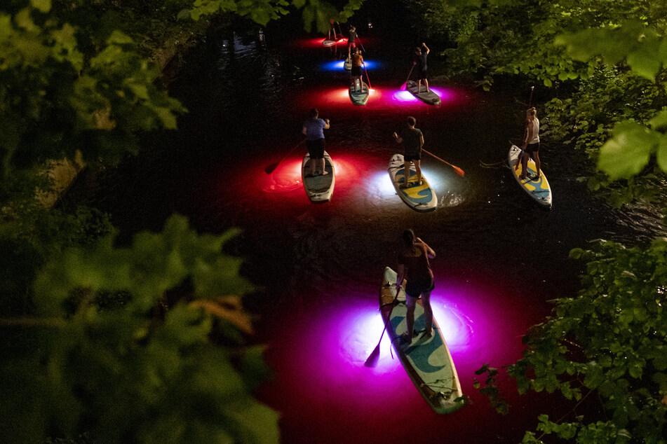 Hamburg: Wassersport-Boom: Hier könnt Ihr jetzt LED-Suppen!