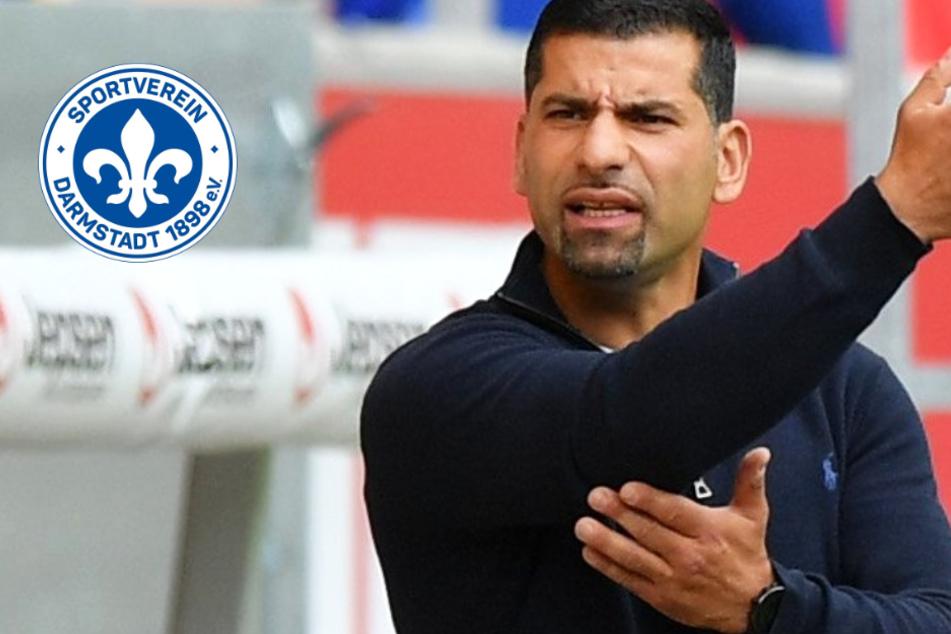 Darmstadt 98-Coach Grammozis fordert von Spielern mehr Biss