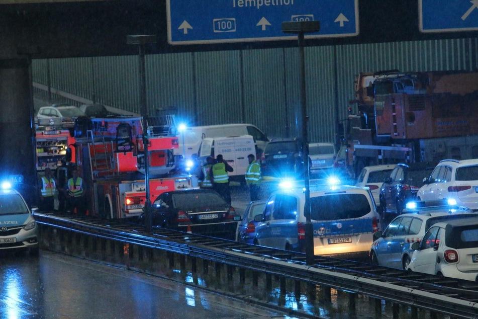 Der 30-jährige Iraker Sarmad A. hat auf der Berliner Stadtautobahn für drei Unfälle gesorgt.