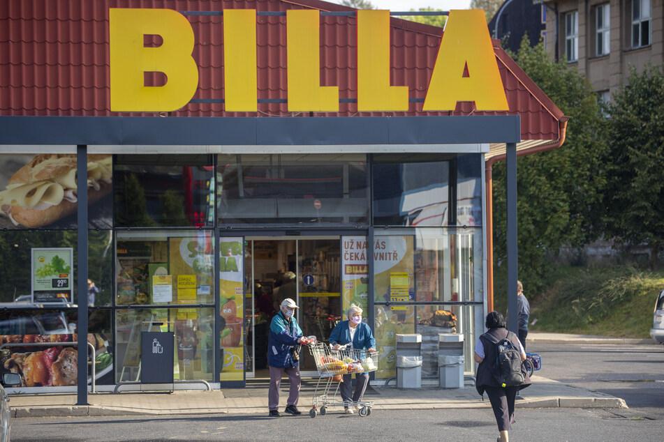 Den Billa in Weipert kann man noch problemlos besuchen, ohne bei der Einreise in die Quarantäne-Falle zu tappen.