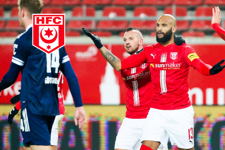 Terrence Boyd in Top-Form! HFC klopft in der 3. Liga oben an