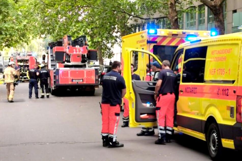 Explosion in Berliner Wohnhaus!