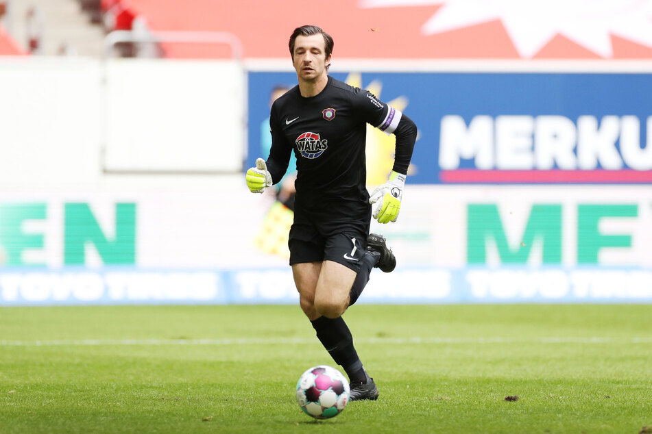 Aue-Kapitän Martin Männel (33) war mit dem Match gegen Fortuna Düsseldorf ganz und gar nicht zufrieden.
