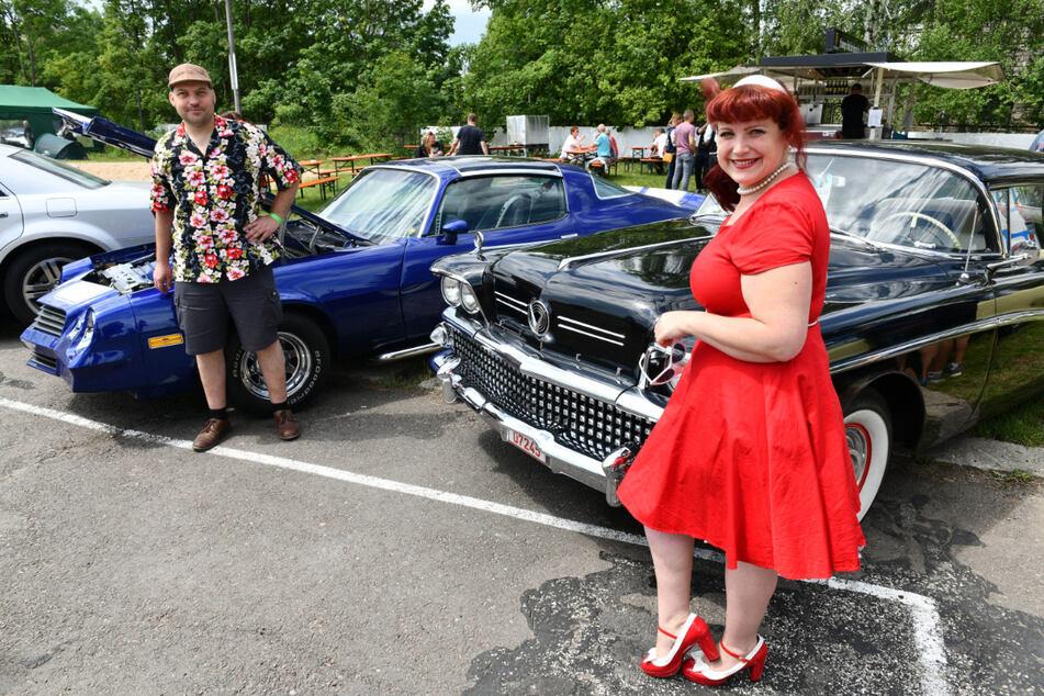 Beim US Car Treffen in Freiberg gibt es wieder Autos verschiedener Hersteller und Baujahre zu sehen.