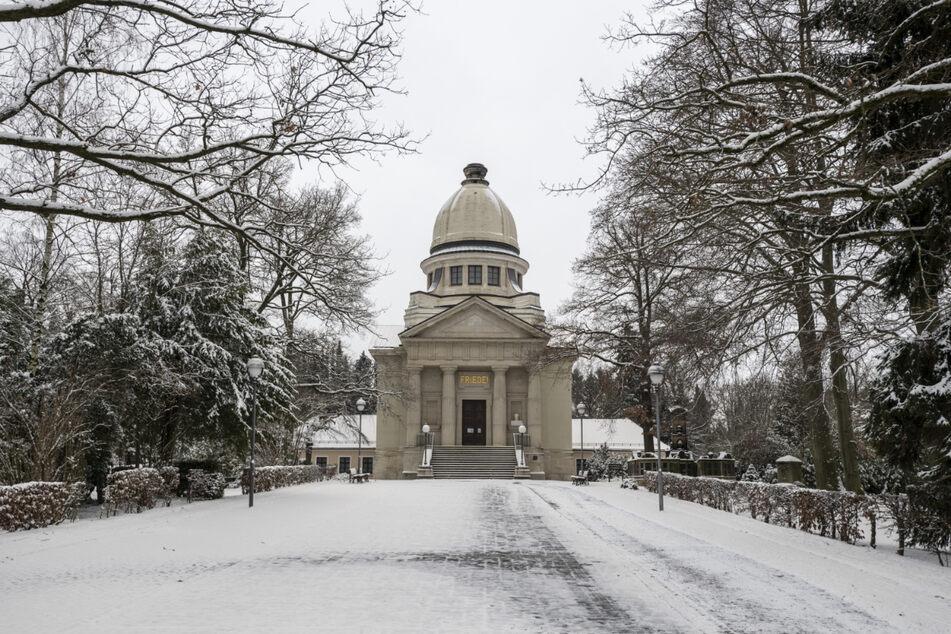 Die Zahl der Einäscherungen im Krematorium nahm auch im Januar weiter zu.