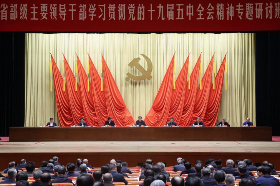 Chinas Führungsriege kann gute Wirtschaftszahlen vorweisen.