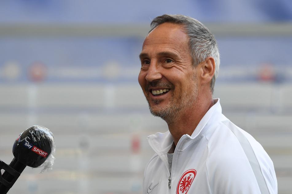 Eintracht-Frankfurt-Cheftrainer Adi Hütter (50).