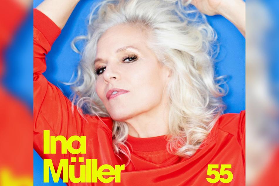 """Am Album """"55"""" arbeitete Ina Müller mit ihrem Partner Johannes Oerding."""