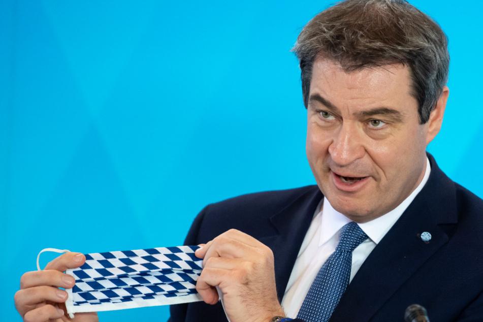 Markus Söder hat einige Lockerungen für Bayern verkündet.