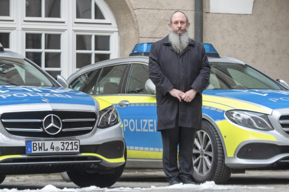 Deutschlands erste Polizeirabbiner nehmen ihren Dienst auf