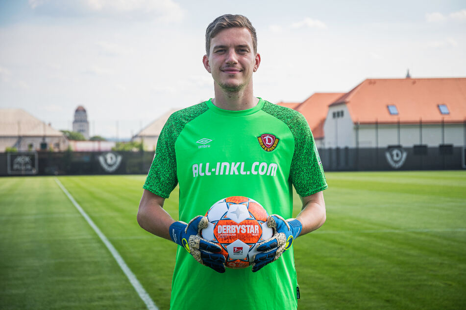 Anton Mitryushkin (25) empfahl sich im Probetraining und wurde von Dynamo Dresden nach den guten Eindrücken verpflichtet.