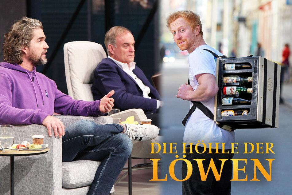 """Höhle der Löwen: Er braucht Geld für Bier-Rucksack: Dresdner Student in der """"Höhle der Löwen"""""""