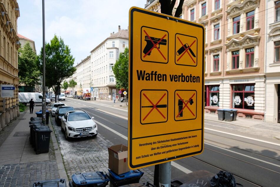 In der Leipziger Eisenbahnstraße gibt es bereits ein Waffenverbot. Aber die Regelung wackelt.