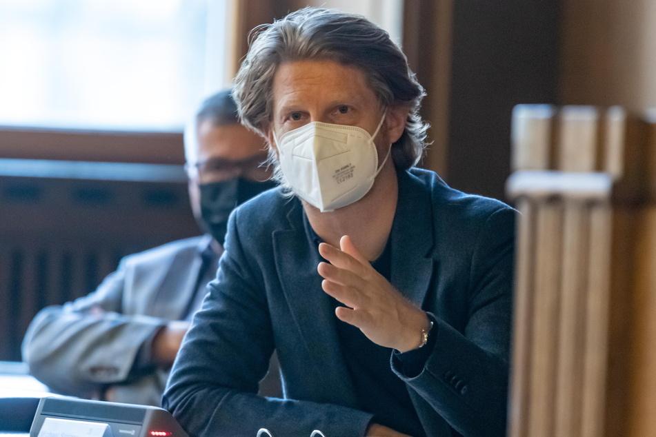 Baubürgermeister Michael Stötzer (47, Grüne) durfte sein Konzept für den Kreativhof im Stadtrat nicht vorstellen.