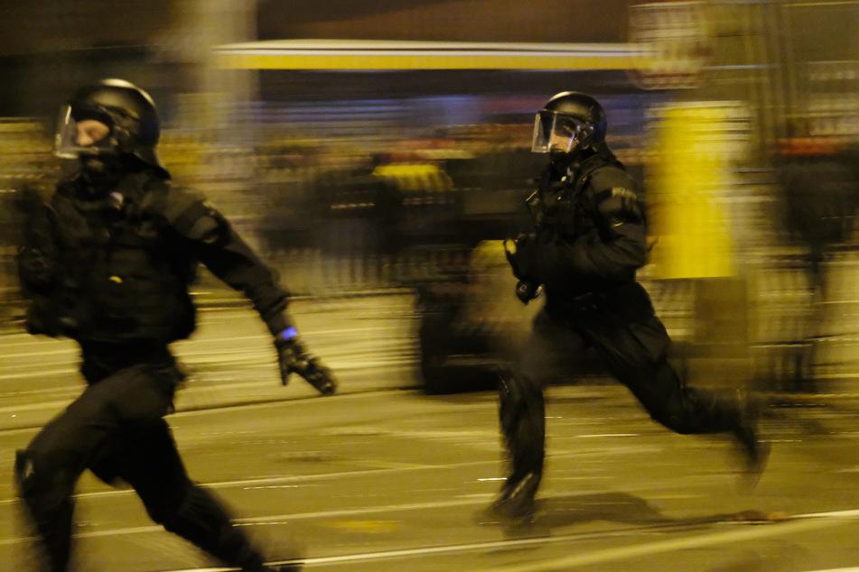 Auch am Einsatz der Polizei wurde Kritik laut. (Archivbild)