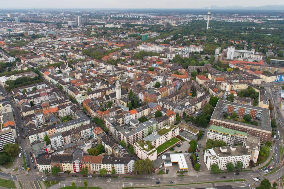 Blick auf den Mannheimer Stadtteil Schwetzingerstadt. (Archiv)