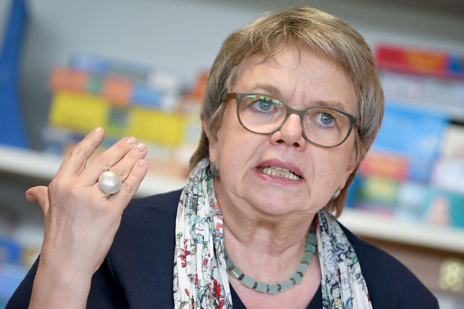 Marlis Tepe, Vorsitzende der Gewerkschaft Erziehung und Wissenschaft GEW.
