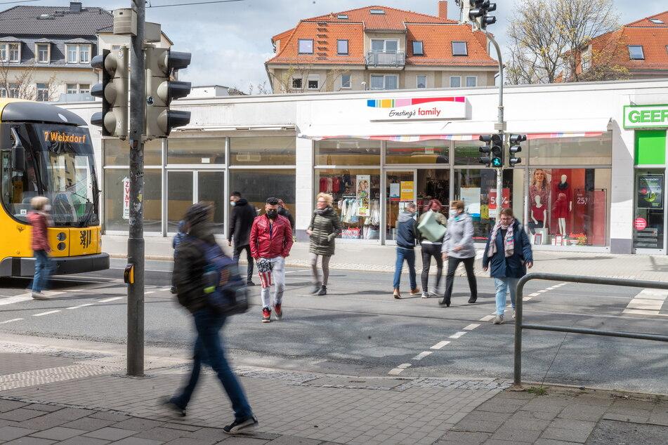 Seit Mitte März wird die neue Technik an der Kesselsdorfer Straße getestet.