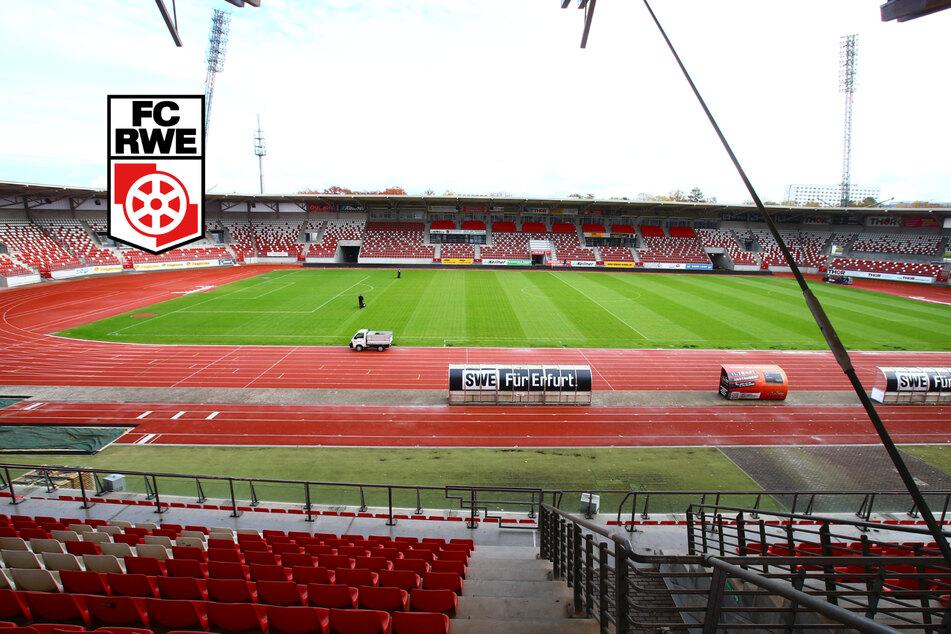 Oberliga-Antrag gestellt: Rot-Weiß Erfurt verlässt das Steigerwaldstadion