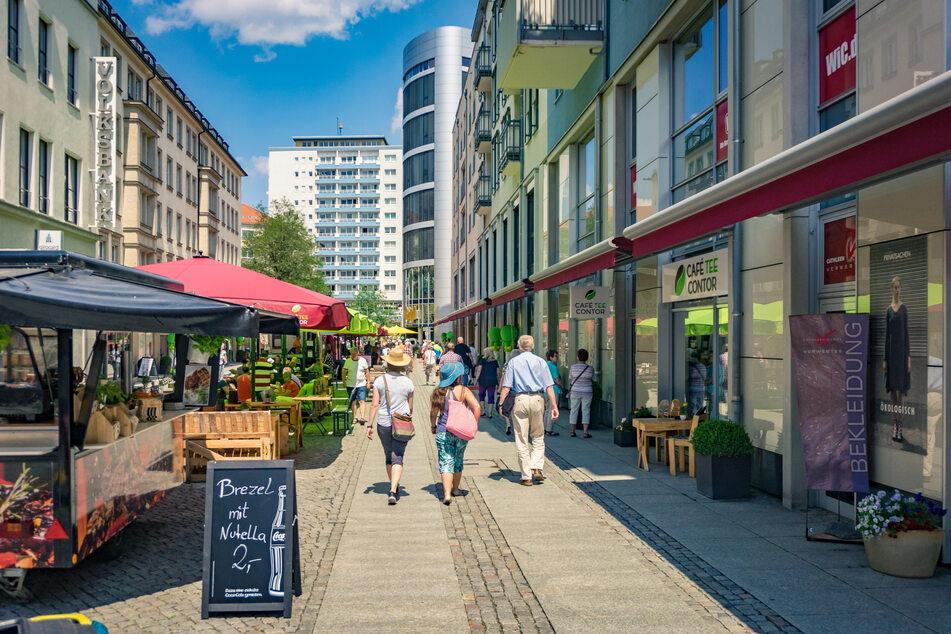 In der Inneren Klosterstraße soll mithilfe von Straßenmusik Sommerstimmung aufkommen.