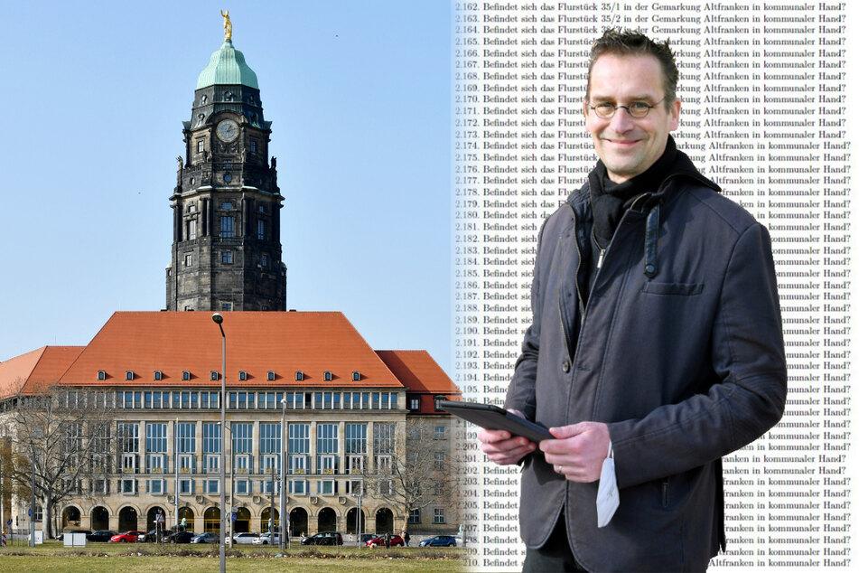 """108.884 Anfragen auf einen Schlag! """"Piraten""""-Stadtrat nimmt das Rathaus in den Schwitzkasten"""