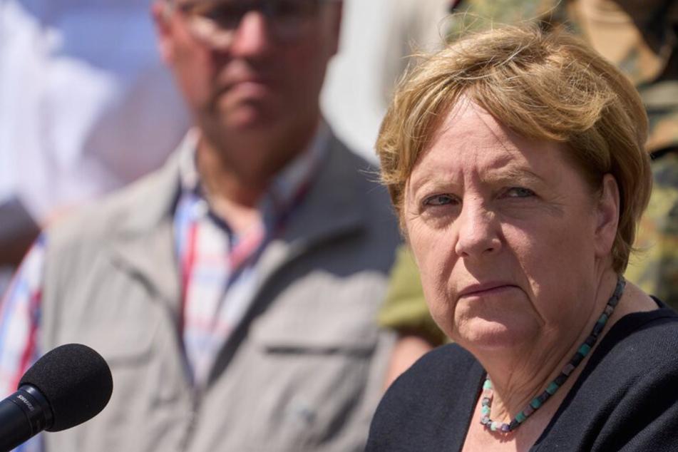 Bad Münstereifel: Angela Merkel verspricht Opfern unbürokratische Soforthilfe